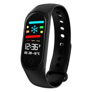 Heart Rate Fitness Bracelet Tracker Smart Band 0.96 inch IPS Color-screen blood pressure Oxygen Monitor pk mi band 3