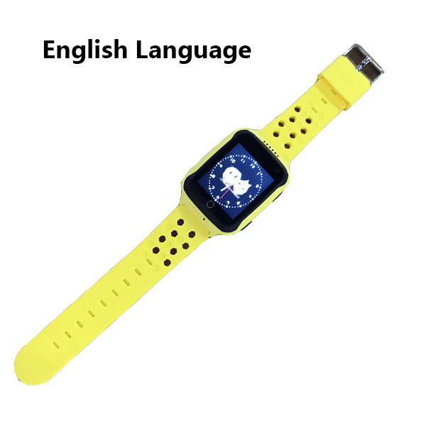 GPS Kids Smart Watch With Camera Flashlight Baby Watch SOS Call Location Device Tracker