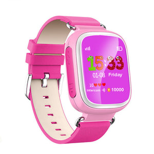 Q80 GPS Device Tracker Colorful Smart Watch SOS Emergency Call for Kids for IOS  Android Smartwatch Wristband Alarm
