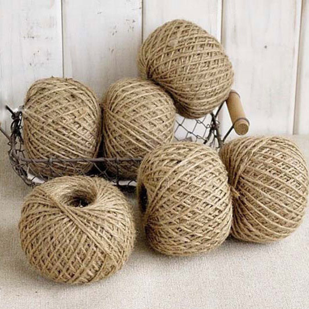 30M Jute Twine Wedding Decor Crafts