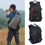 Multi-function Large Capacity Camera Laptop Travel Backpack Bag for Canon Nikon