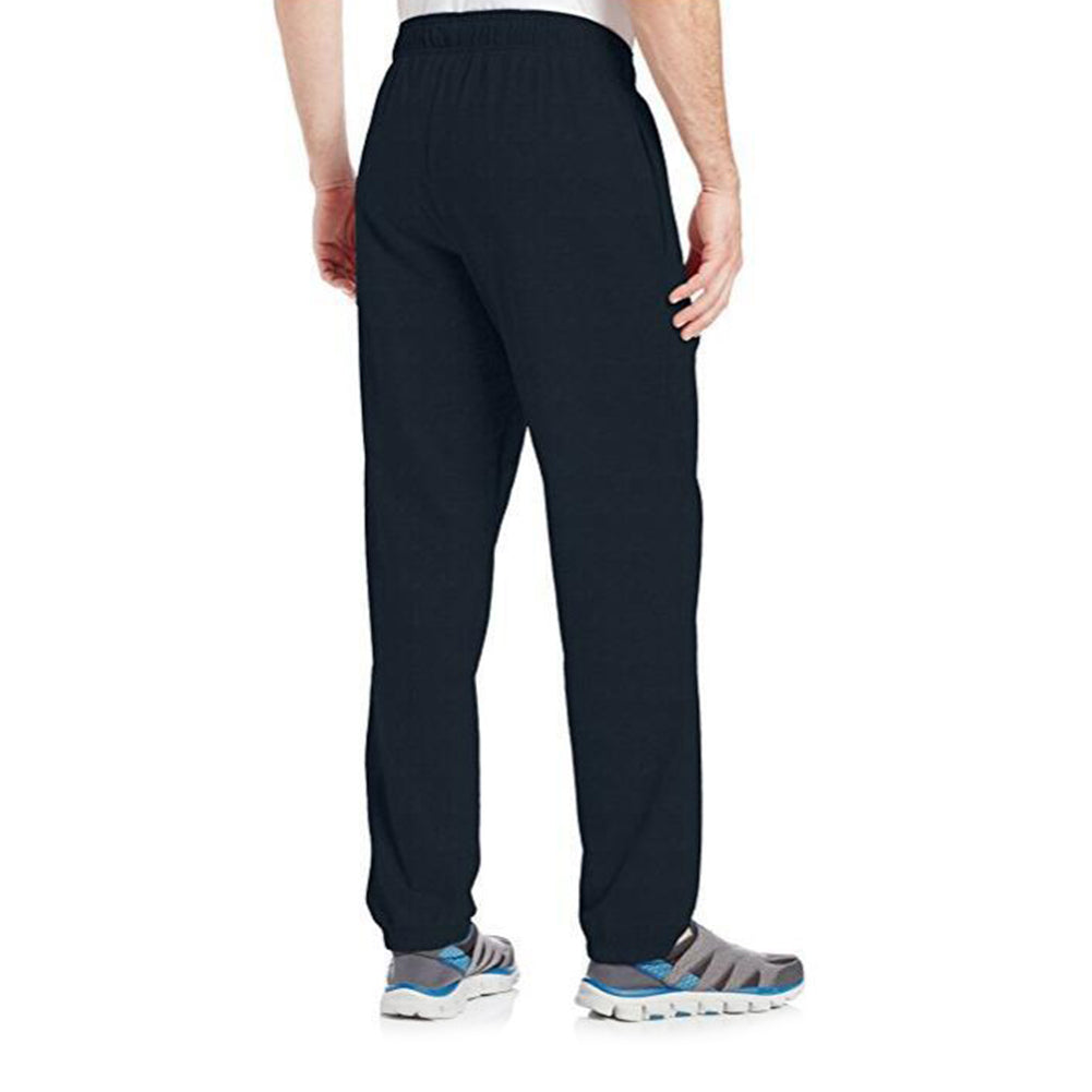 Leisure Drawstring Loose Elastic Band Sports Men Cotton Long Pants Trousers