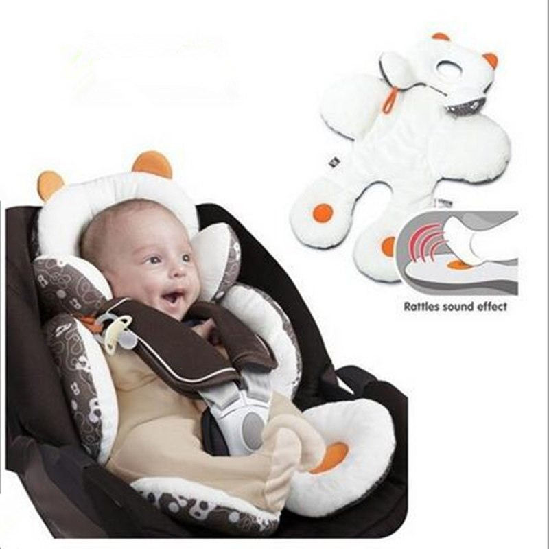 Baby Head & Body Support For Car Seat
