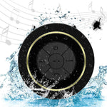 Waterproof Bluetooth Speaker, Shower Speakers Portable Wireless Dust-proof, Built-in Mini Mic and Hands-Free Speakerphone,Easily With All Your Bluetooth Devices
