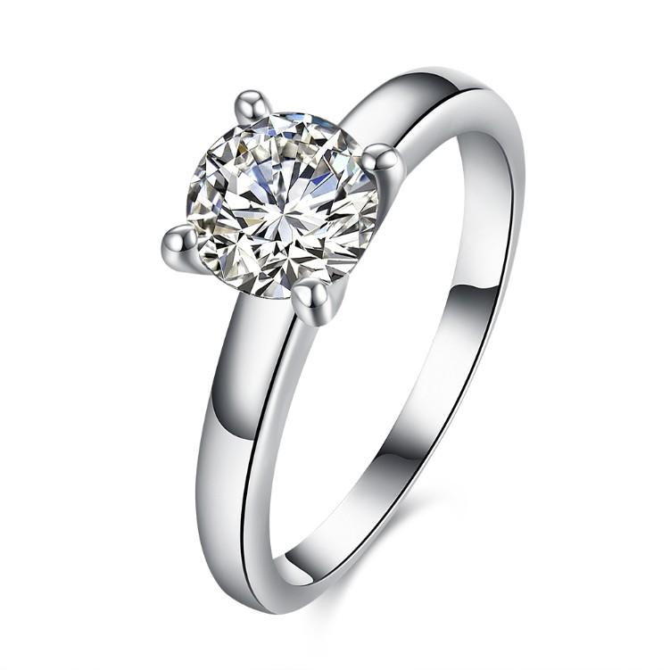 Solitaire Stone Ring