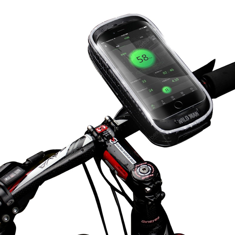 Bicycle Bag Mobile Holder Touch Screen