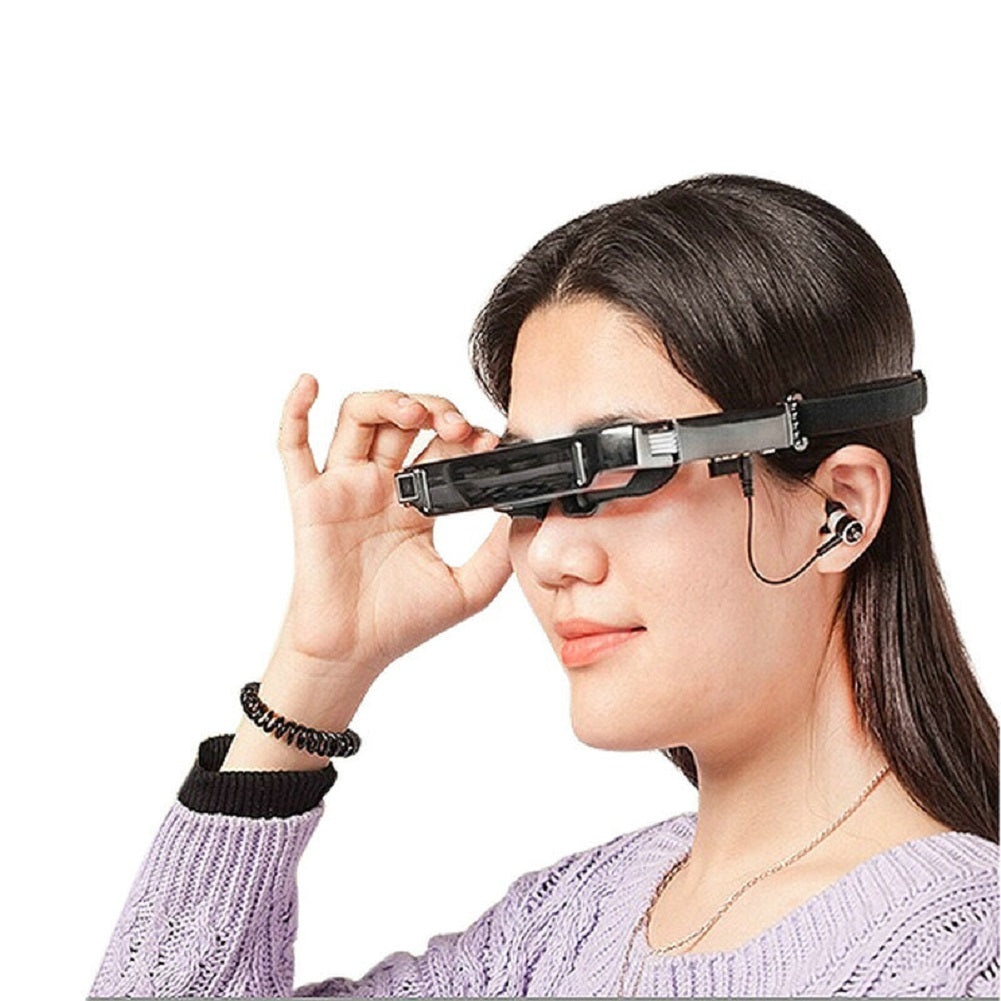 VISION-800 Virtual Reality Multimedia Augmented Reality VR HD Large Screen Smart Android Wifi 3D Glasses