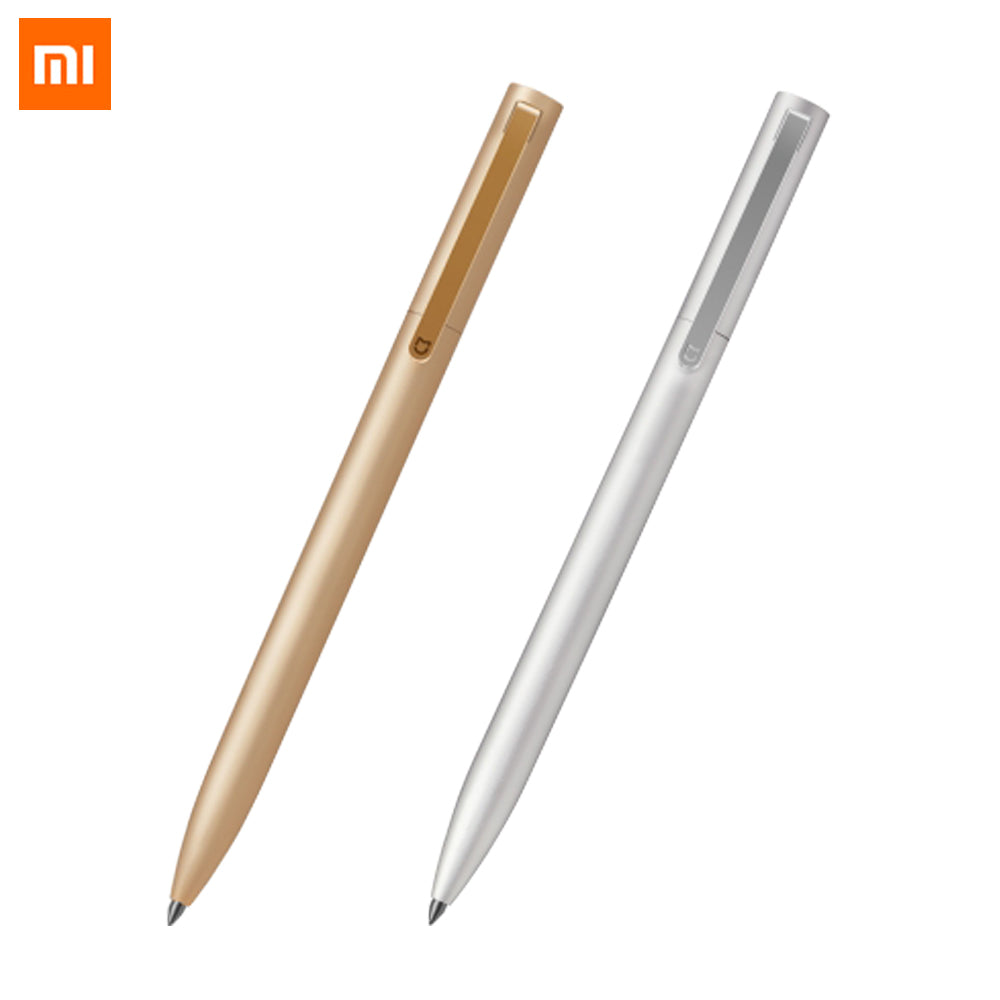 New Arrivel Original  Mijia Metal Sign Pen MI Pen 0.5mm Signing Pen PREMEC Smooth Switzerland Refill MiKuni Japan Ink