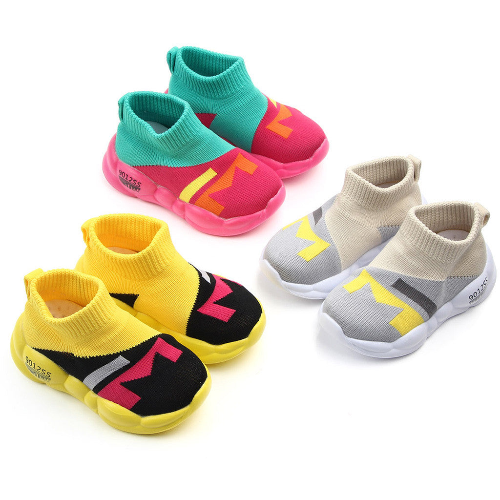 Anti-slip baby shoes