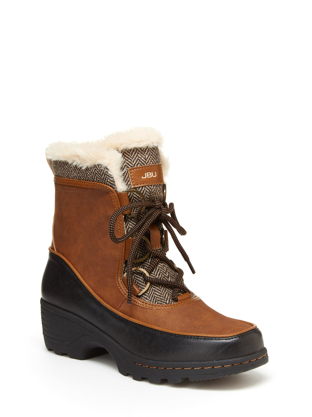 JBU by Jambu Women's Marco Weather Ready Faux Fur Boots
