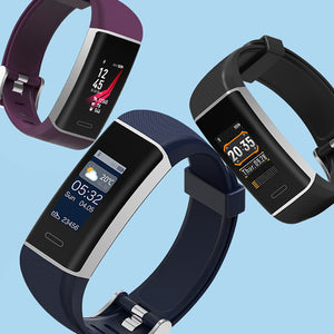 Smart Band GPS Sports Watch Color Screen Bracelet Fitness Tracker Wristband Gift