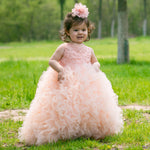 Girls Princess Pageant Dress