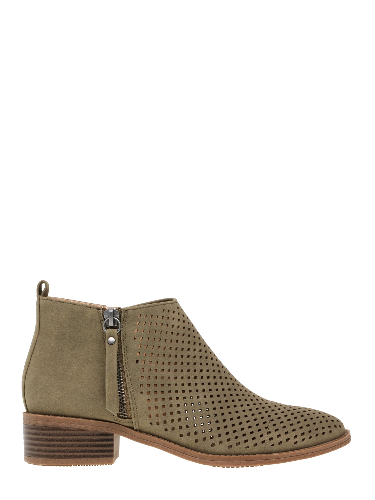 Women's Time and Tru Perforated Bootie