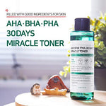 SOME BY MI Aha.Bha.Pha 30Days Miracle Toner 150ml (5oz) Anti-acne Exfoliation Hydration Brightening : Beauty