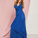 Sofia Jeans by Sofia Vergara Sleeveless Knit Faux Wrap Maxi Dress, Women's
