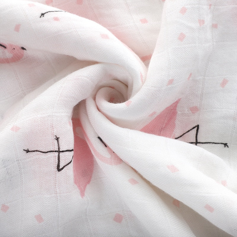 Muslin 100% Cotton Baby Swaddles