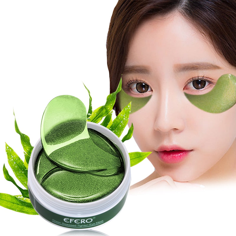 60pcs Eye Mask Gel Seaweed Collagen