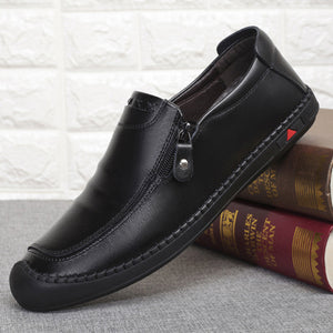 Men Casual Business Shoes Leather Oxfords