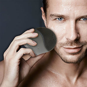 SOLO Mio For Him – Facial Cleansing, Massaging and Antiaging in One Elegant Device. All You Need to Cleanse Your Skin, Look Younger, and Get The Smoothest Shave