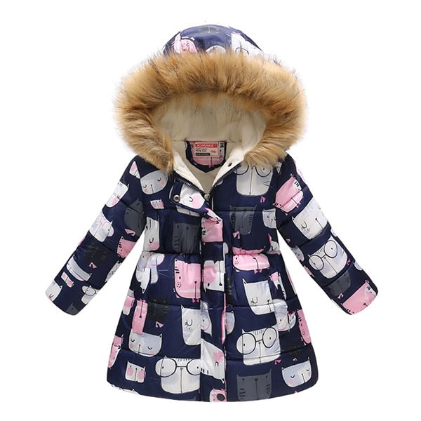 Autumn Winter Jacket For Girls