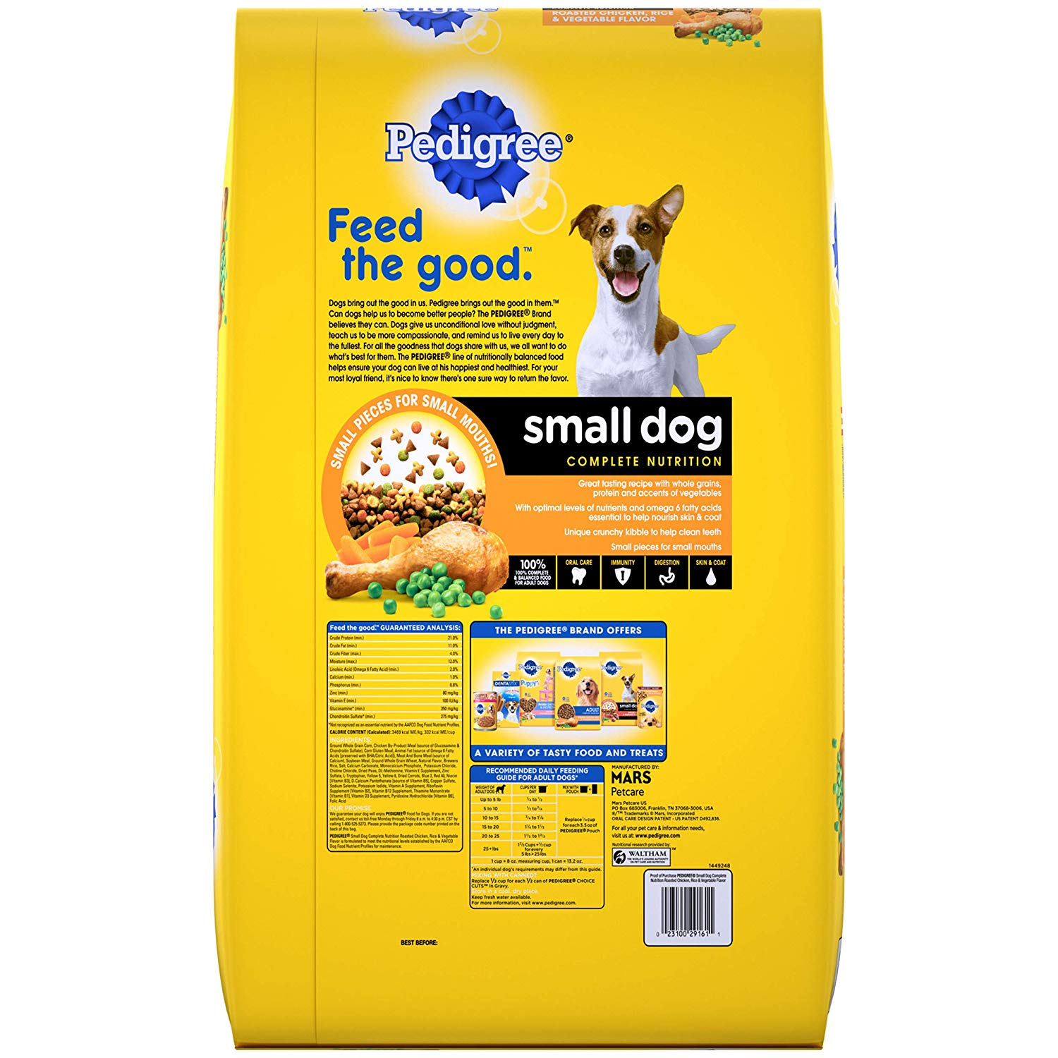 Pedigree Small Breed Adult Dry Dog Food