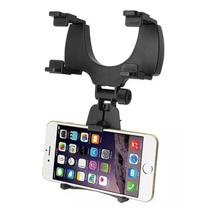 Ulamore Car Rearview Mirror Mount Holder Stand Cradle For Cell Phone GPS