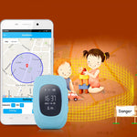 Q50 Anti-lost Children Smart Watch 10m GSM 50-200m For Android IOS Phone Blue