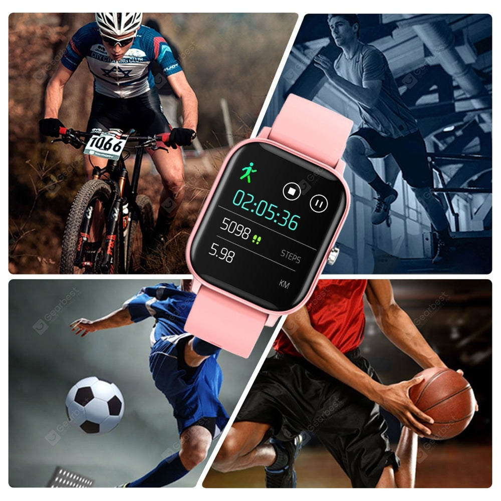 COLMI P8 1.4 inch Smart Watch Men Fitness Tracker Blood Pressure Smart Clock