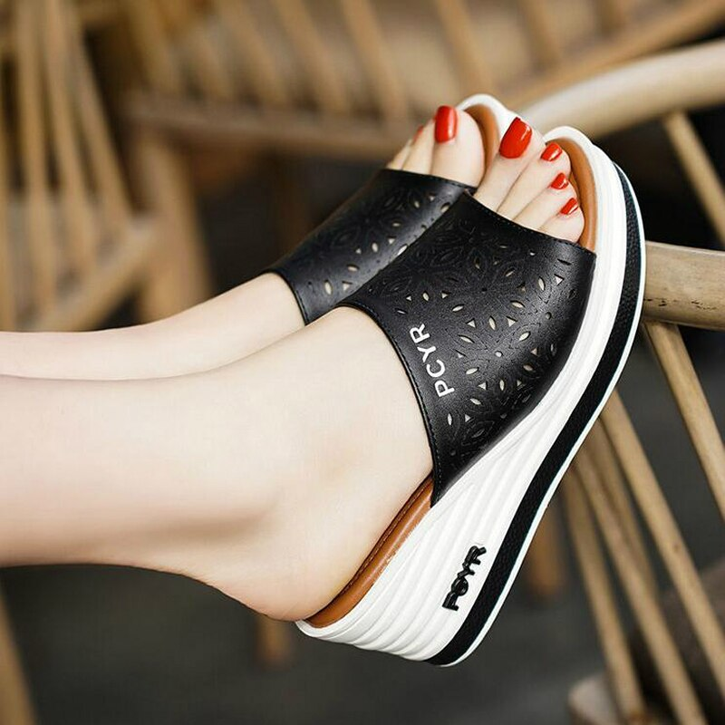 Sexy Thick Soled Sandals
