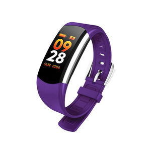 Smart Bracelet IP68 BP Heart Rate Sleep Monitor Call Reminder Wristband Tracker