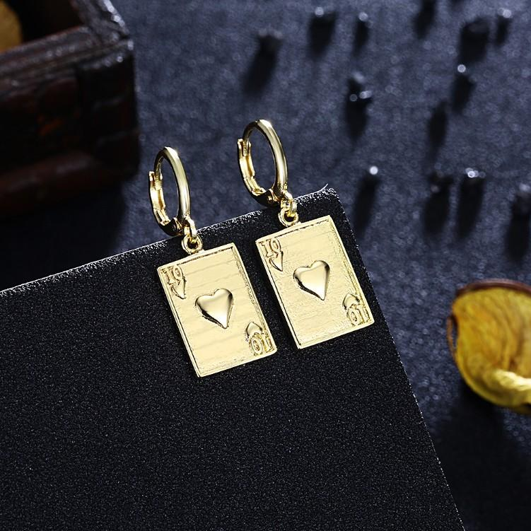Hearts Drop Earrings