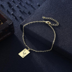 Ace of Hearts Bracelet