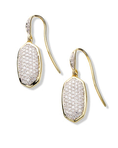 Swarovski Crystals Pave Drop  Earring