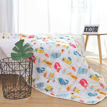 6 Layers Baby Blanket Muslin Cotton