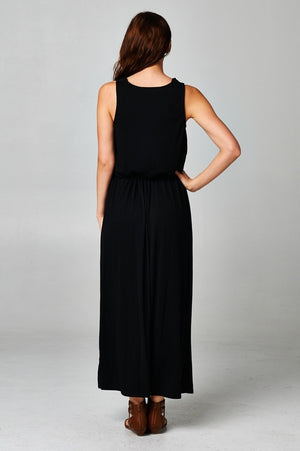Women's Black Maxi Dress From United States