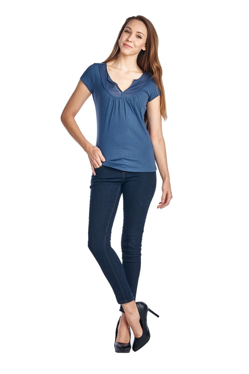 Women's Jersey Short Sleeve Top From United States