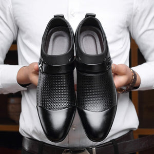 AlexBu Autumn Man Leather Shoes