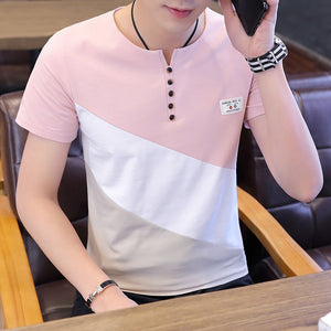 O Neck Men's Short Sleeve T Shirt