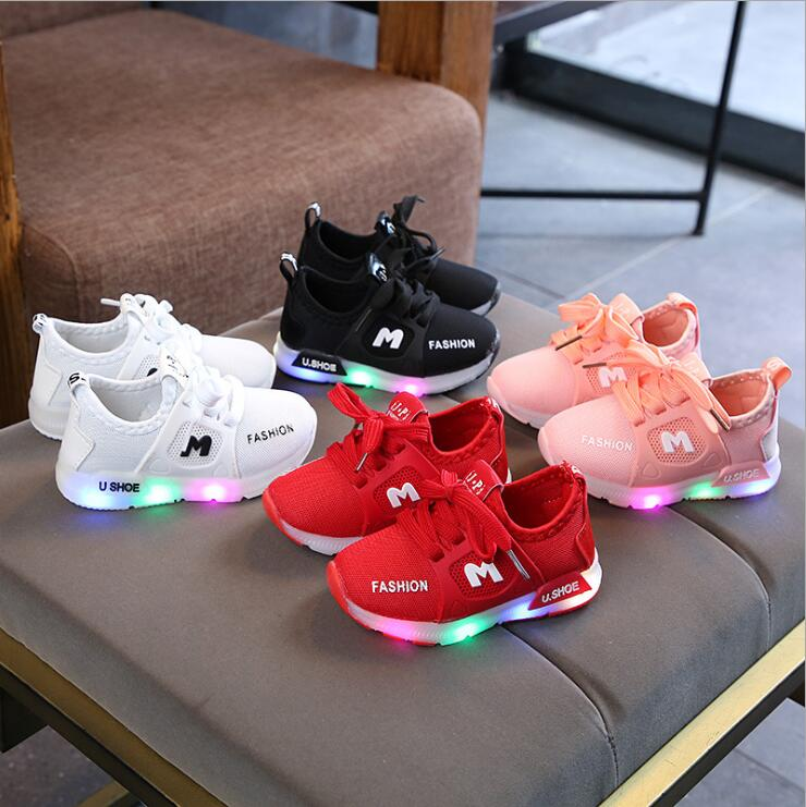 New Children Lights Luminous Shoes
