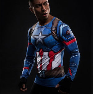 Captain America 3 T-shirt