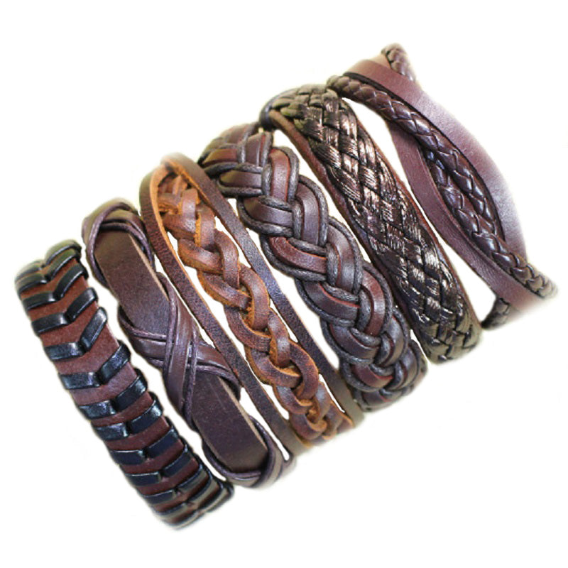Handmade genuine leather bracelet for Men's