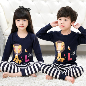 Animal Cartoon Pajama Sets