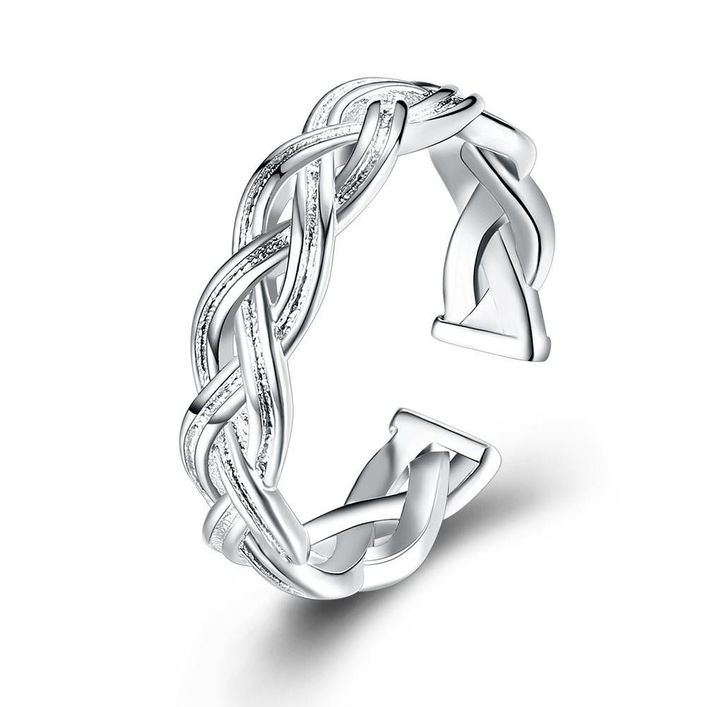 Adjustable Braided Ring