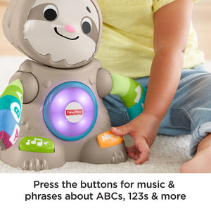 Fisher-Price Linkimals Smooth Moves Sloth, with Music & Lights