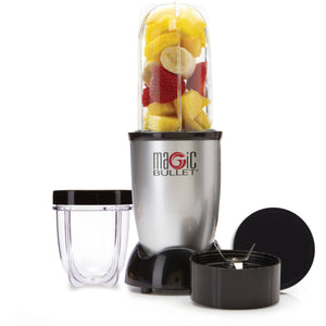 Magic Bullet, 7-Piece, Silver