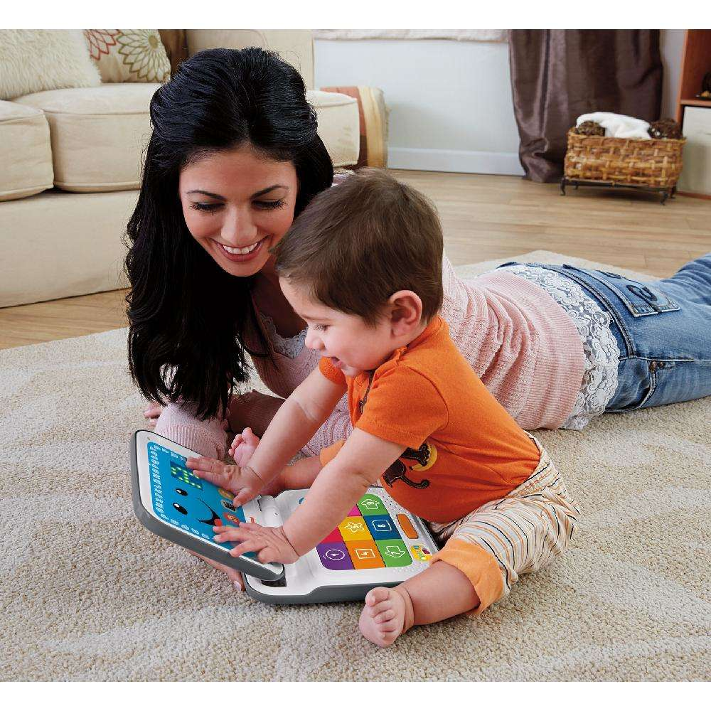 Fisher-Price Laugh & Learn Smart Stages Laptop, Grey