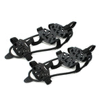 Non-slip 24 Teeth Crampon Ice Gripper For Shoes Women Men Spike Grips Cleats For Ice Snow Climbing Hiking
