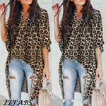 Casual Leopard Tops T-Shirt