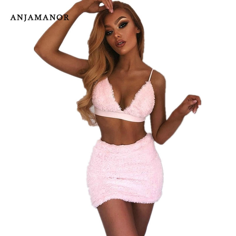 ANJAMANOR Sexy Two Piece Set - BuyBest