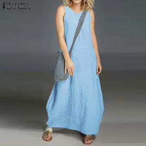 ZANZEA Women 's Summer Dress